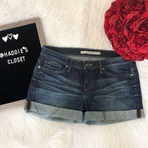 Joe's Jeans Sammy wash denim shorts size 28